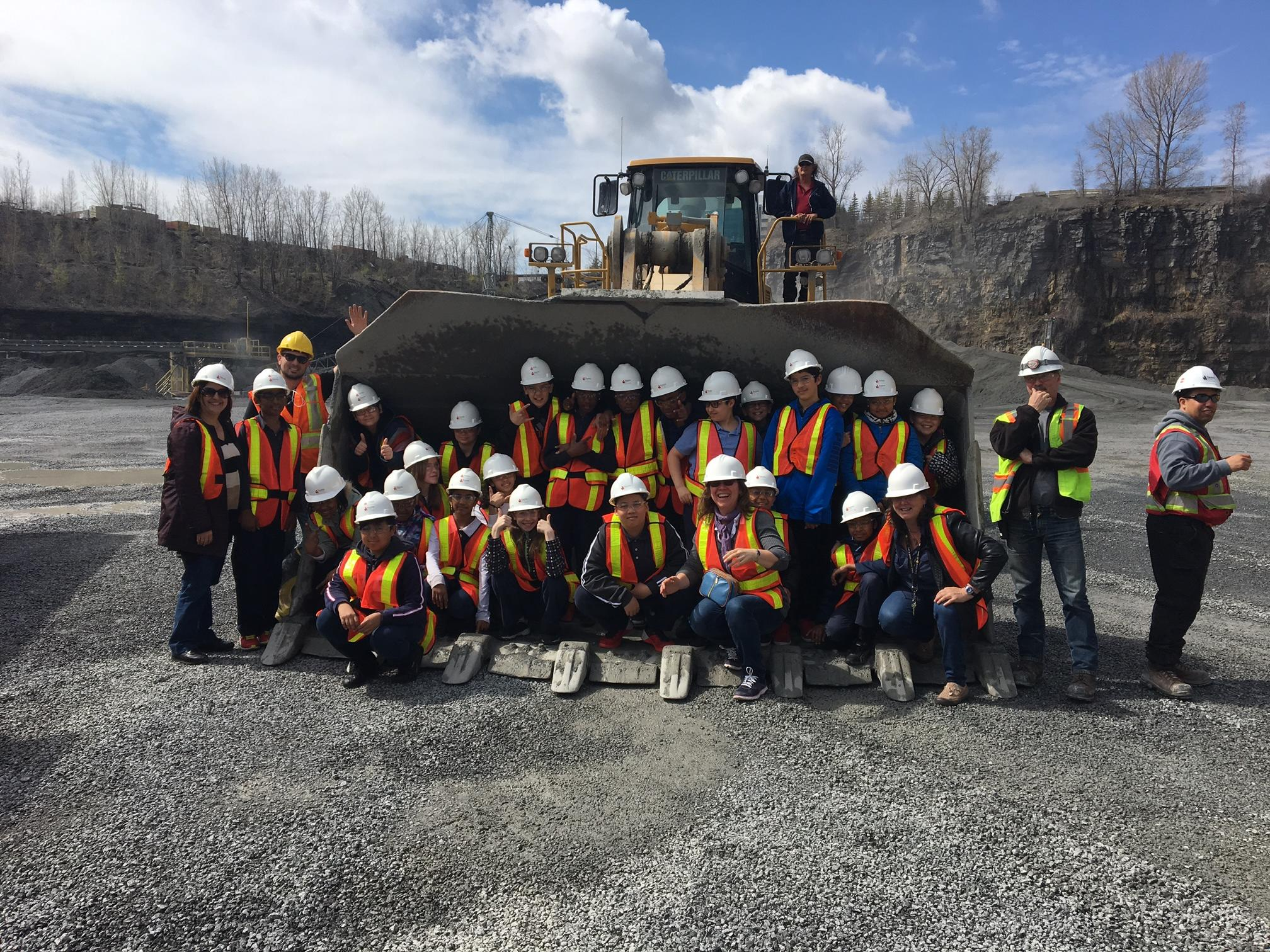 Field Trip Subsidy - Demix Laval Quarry